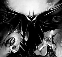 Batman - Black & White by VoteForBatman