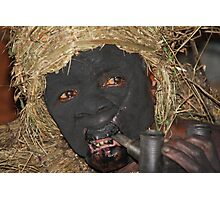 batwa pygmy spirit man Photographic Print