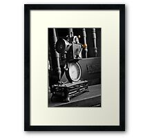 Antique Film Projector Framed Print