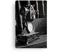 Antique Film Projector Canvas Print