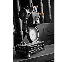 Antique Film Projector Photographic Print