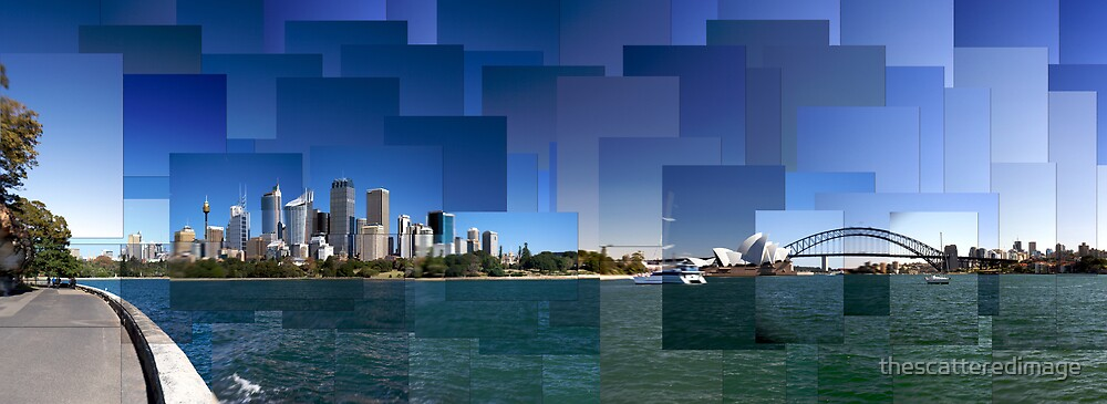 Sydney Harbour ii by thescatteredimage
