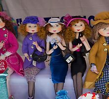 The Girls Are Dressed For Shopping by Al Bourassa