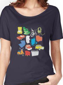 line art Women's Relaxed Fit T-Shirt