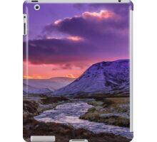 Glenshee near sunset iPad Case/Skin