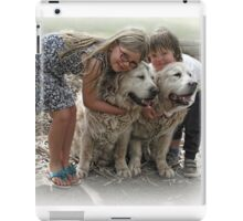 The Boys get a big hug iPad Case/Skin