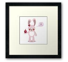 I Love Cupcakes Framed Print