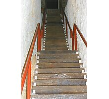 Opal Stairs Photographic Print