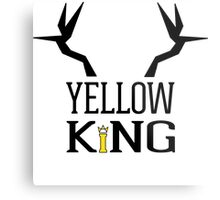 The Yellow King Metal Print