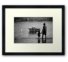 The Limo Framed Print
