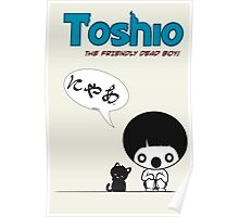 Toshio Poster