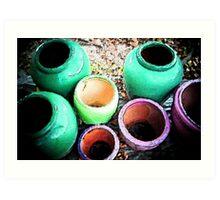 Pots for Sale Art Print