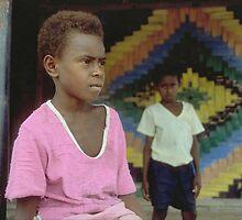 Ni-Vanuatu Boys by Geoff Judd