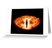 Sauron's Eye Greeting Card