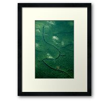 Lost Amazonian Village Framed Print