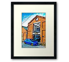 Peugeot 206 Framed Print
