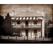 Station Master's Cottage - Uralla, NSW, Australia Photographic Print