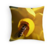 jonquil for lunch Throw Pillow