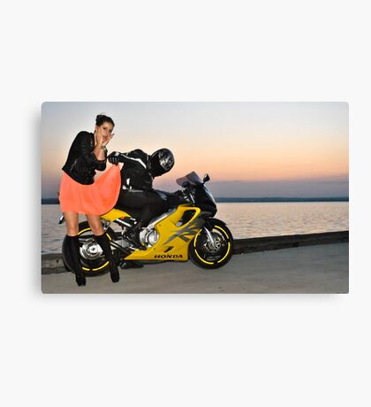 Oups! Canvas Print