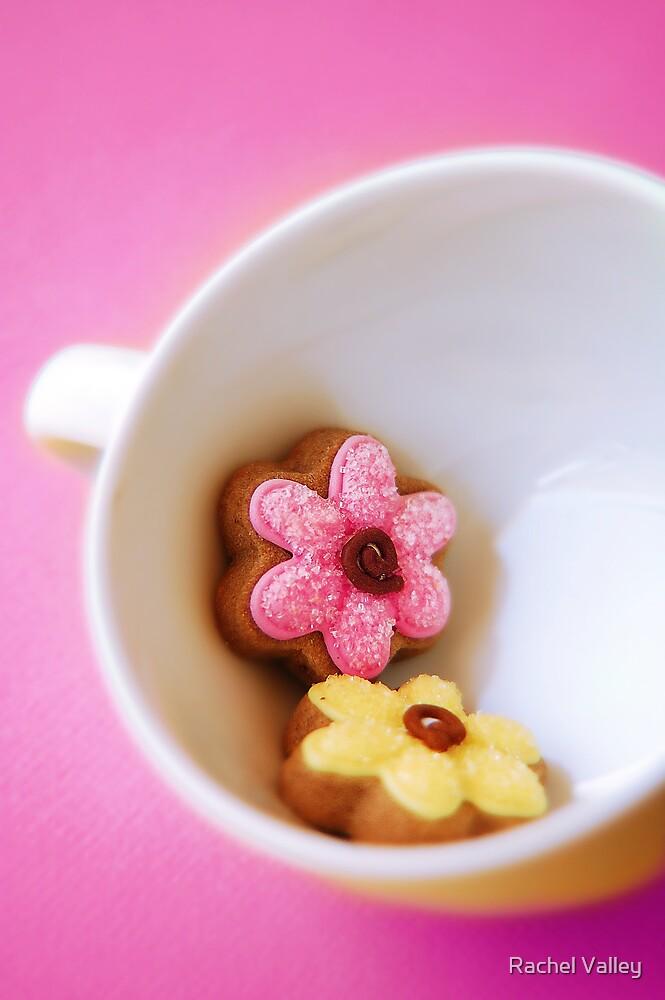 Flower Cookies by Rachel Valley