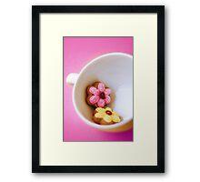 Flower Cookies Framed Print
