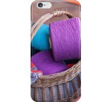 wool in basket iPhone Case/Skin