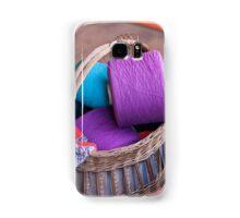 wool in basket Samsung Galaxy Case/Skin