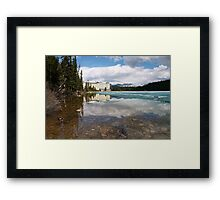 The Chateau On The Lake Framed Print