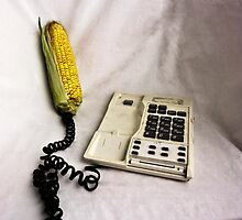 Corn's on the phone. by MagnusAgren