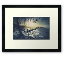 Winter you winter me Framed Print