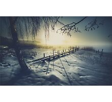 Winter you winter me Photographic Print