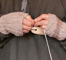 knitting with wool by spetenfia