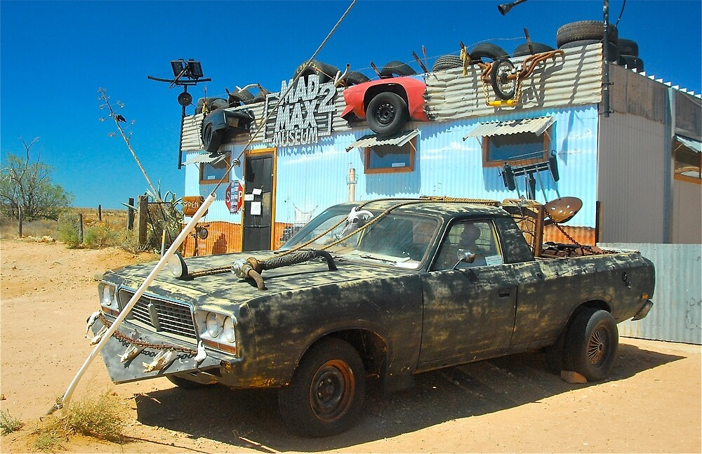 Mad Max Lives :) by Penny Smith