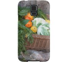fruit and vegetables in the basket Samsung Galaxy Case/Skin