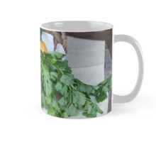 fruit and vegetables in the basket Mug