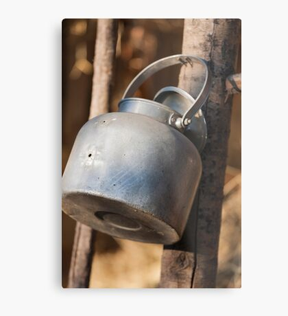 old water container Metal Print