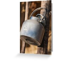 old water container Greeting Card