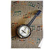 Old Mandolin Poster