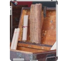 old coffer container iPad Case/Skin
