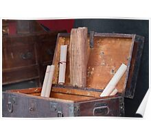 old coffer container Poster