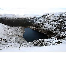Irish corrie lake Photographic Print
