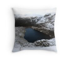 Irish corrie lake Throw Pillow