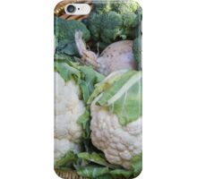 cauliflower in the basket iPhone Case/Skin