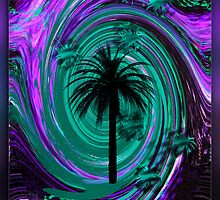 PALM TREE ABSTRACT by Spiritinme