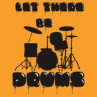 DRUMS T-SHIRT by parko