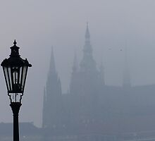 Lampost and Spires by davidandmandy