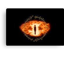 Sauron -- One Ring Canvas Print