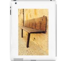 Bench at work iPad Case/Skin