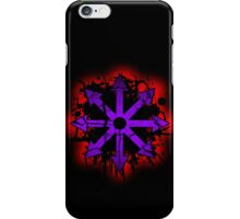Chaos Symbol 3 iPhone Case/Skin