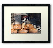 bread from the baker Framed Print